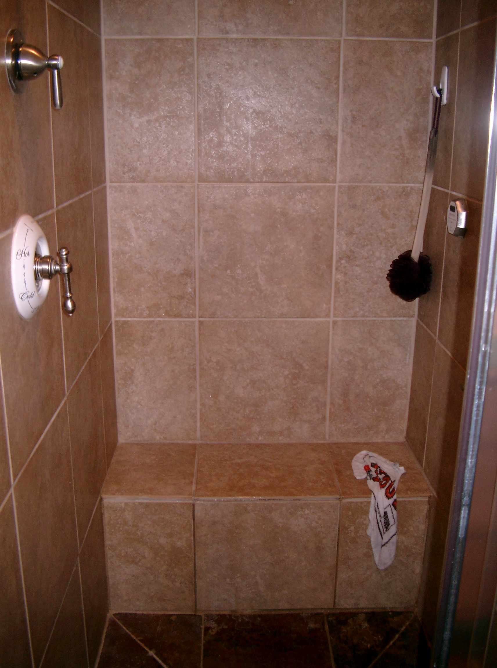 Cherosky sons inc for Build steam shower